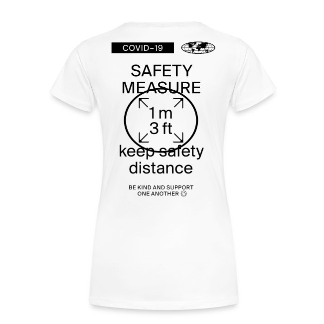 Safety Measure Classic Tee white