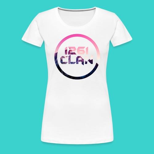1261 Clan Pink Logo - Women's Premium T-Shirt