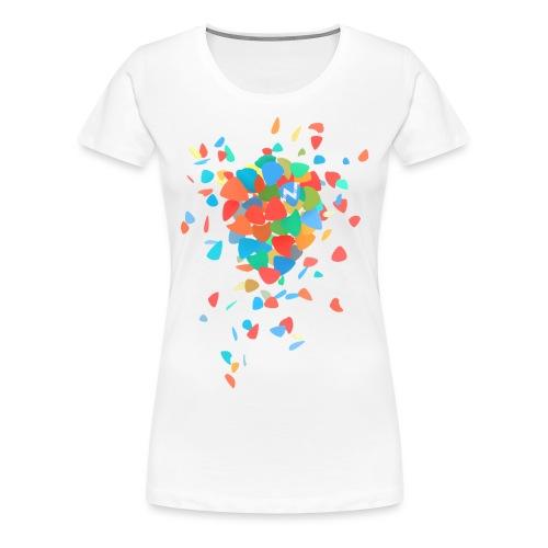 Guitar Pick Explosion - Women's Premium T-Shirt