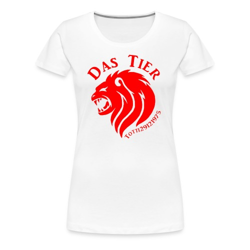 Das rote Tier - Frauen Premium T-Shirt