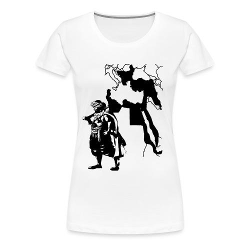 Ottoman Soldier - Frauen Premium T-Shirt