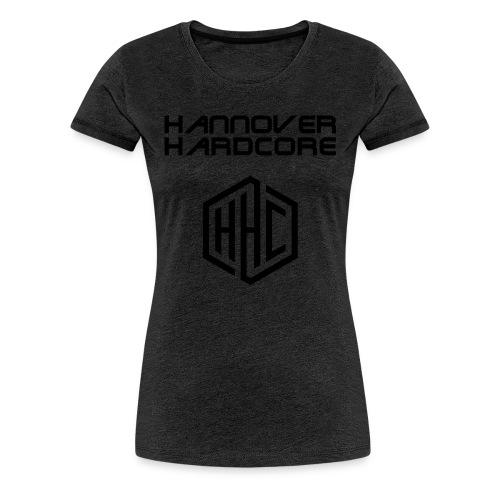 Schriftzug Logo schwarz - Frauen Premium T-Shirt