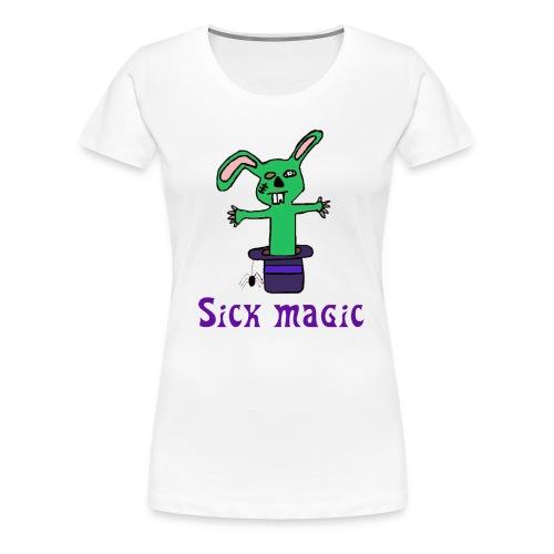 sick magic design large 2 gif - Women's Premium T-Shirt