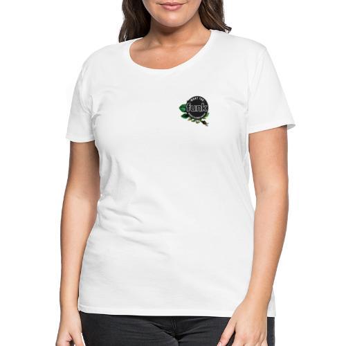 WTFunk - ROSES LOGO- Summer/Fall 2018 - Frauen Premium T-Shirt
