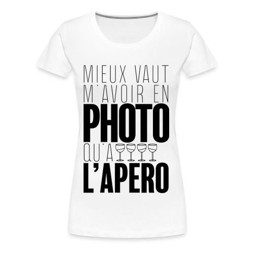 Apérophile - T-shirt Premium Femme
