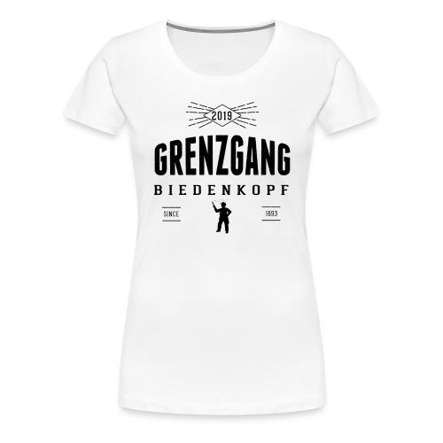 Grenzgang Biedenkopf Wettlaeufer - Frauen Premium T-Shirt