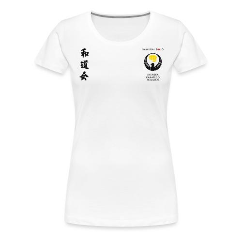 KKSD 3sides white - Premium-T-shirt dam