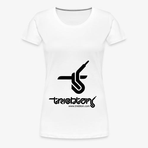 Triebton Schriftzug - Frauen Premium T-Shirt