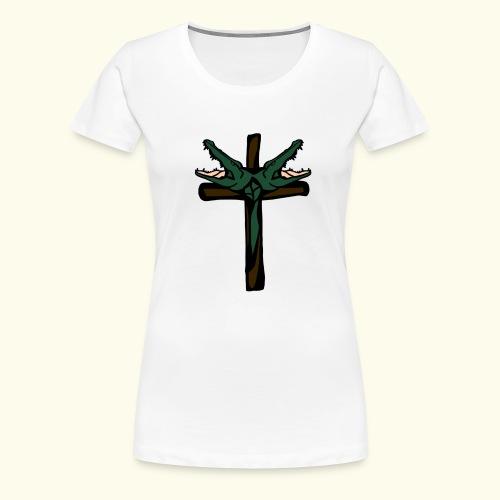 O.DD cross - T-shirt Premium Femme