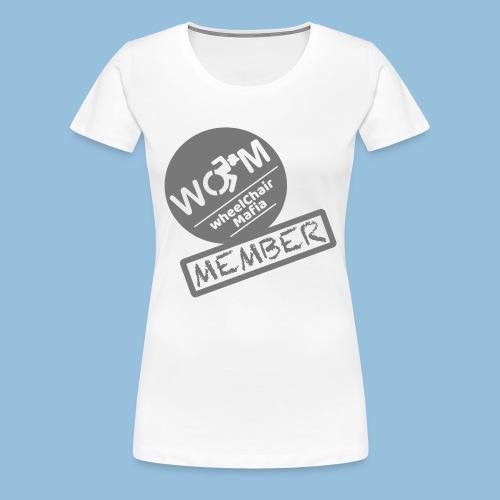 WheelChair Mafia member 001 - Vrouwen Premium T-shirt