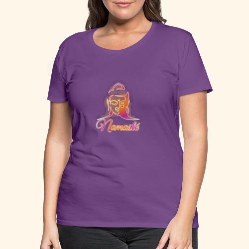 Buddha - Namasté - Frauen Premium T-Shirt