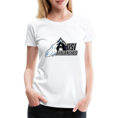 USI Avalanches white - Frauen Premium T-Shirt
