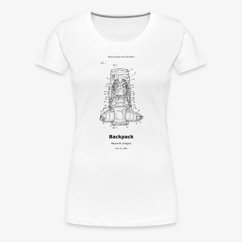 Backpack - Frauen Premium T-Shirt