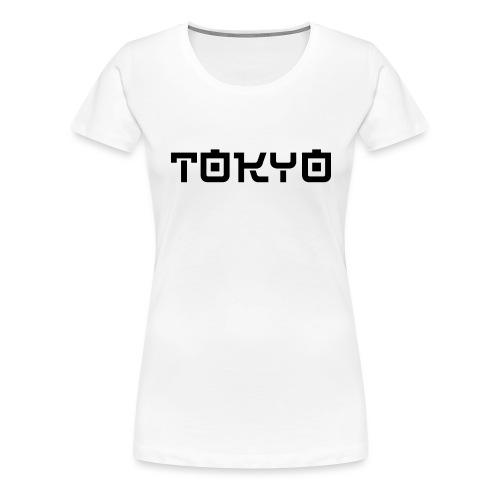 Tokyo - T-shirt Premium Femme