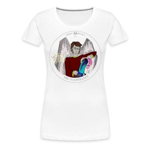 The Temperance, Die Mäßigkeit Tarot Karte, Schütze - Frauen Premium T-Shirt