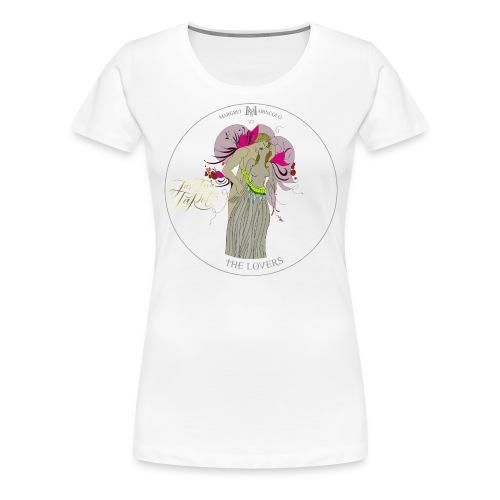 The Lovers   Die Liebenden Tarot Karte   Zwillinge - Frauen Premium T-Shirt