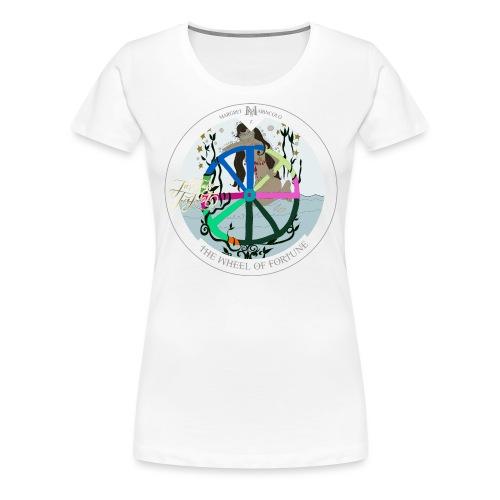 The Wheel of Fortune | Rad des Schicksals Tarot - Frauen Premium T-Shirt