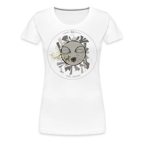 The Moon | Der Mond Tarot Karte | Fische - Frauen Premium T-Shirt