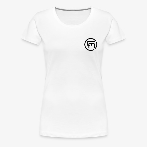 Chris Mitchell Black Logo - Women's Premium T-Shirt