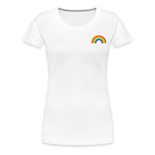 Regenboog/Rainbow Gay Pride LGBT - Vrouwen Premium T-shirt