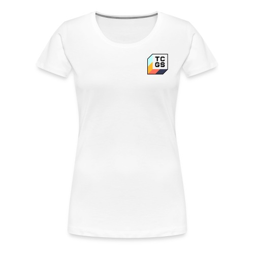 TCGS Black Outline - Women's Premium T-Shirt