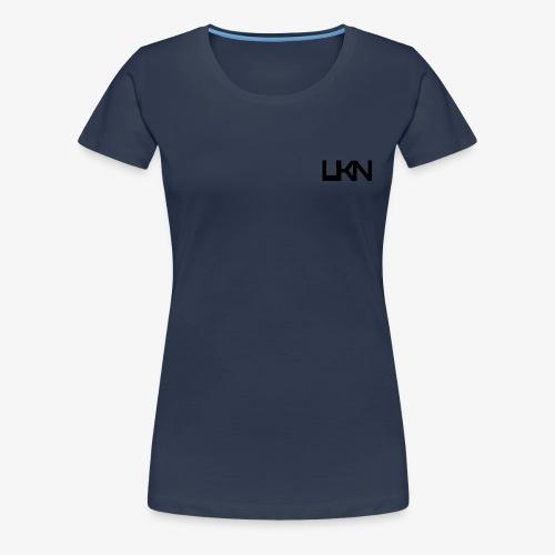UKN Just Black Text - Women's Premium T-Shirt