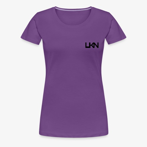 UKN Just Black Text - Women's Premium T-Shirt