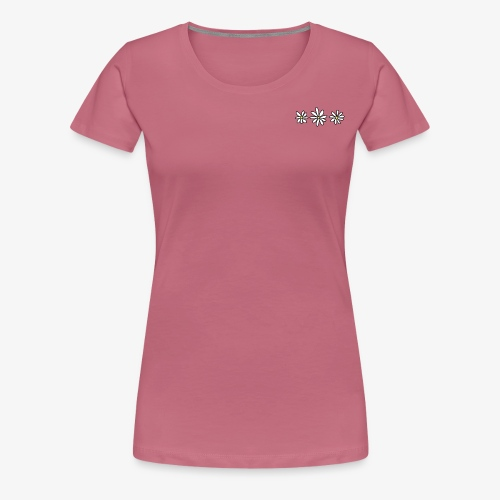 Flower Tee - Vrouwen Premium T-shirt
