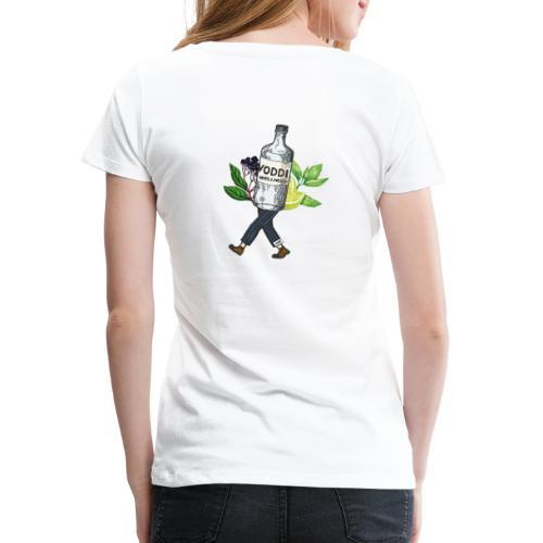 WZB - Voddi Wellness (Backprint) - Frauen Premium T-Shirt