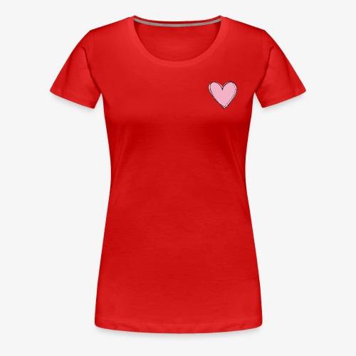 Pink Love Tee - Vrouwen Premium T-shirt