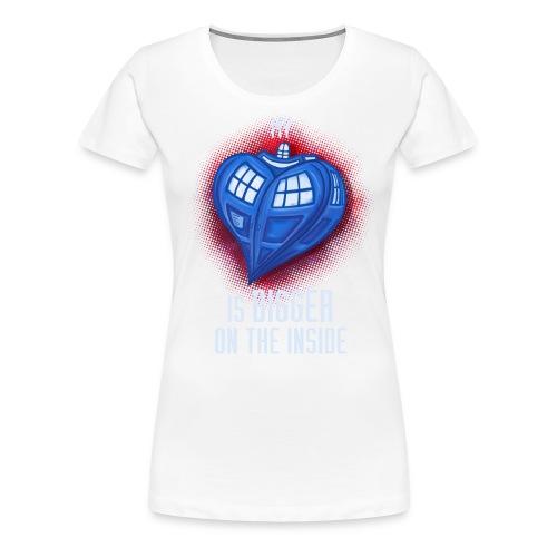 heart 2 - Women's Premium T-Shirt