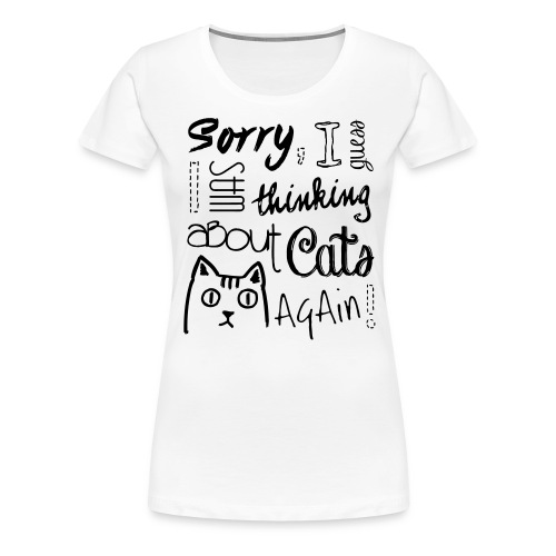 Cat Addict - Frauen Premium T-Shirt