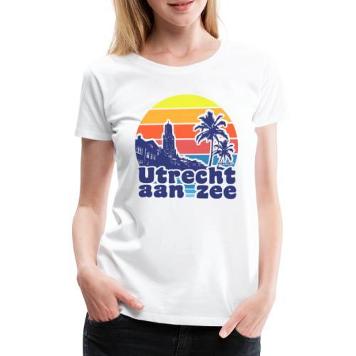 Utrecht aan zee - Vrouwen Premium T-shirt