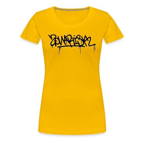 Zonarisk Logo Noir - T-shirt Premium Femme