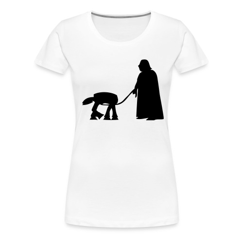 walk this - Premium-T-shirt dam