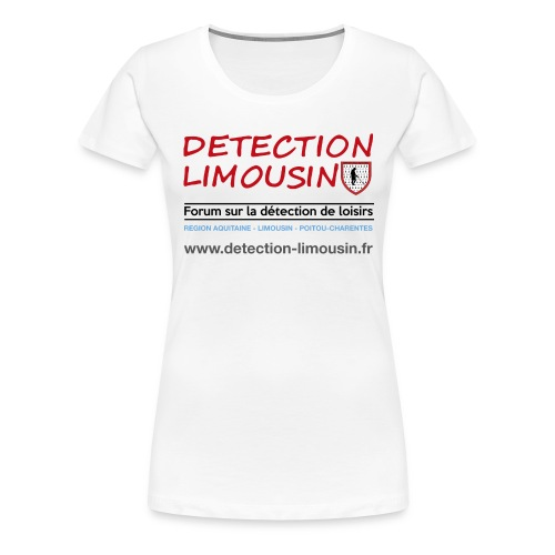 detection lim blason 28a4 png - T-shirt Premium Femme