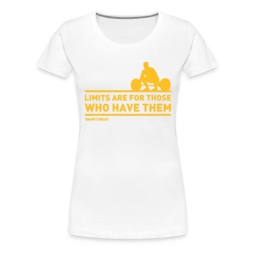 Limits - Maglietta Premium da donna