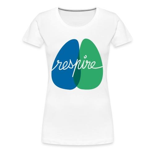T-shirt de l'association Respire (coupe homme) - T-shirt Premium Femme