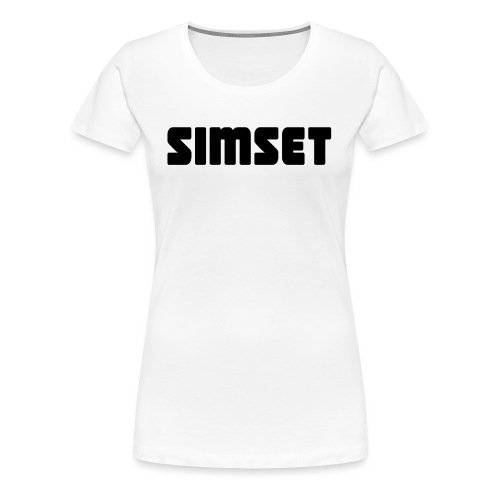 SIMSET - Premium T-skjorte for kvinner