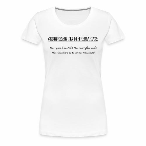 Grundregeln des Referendariats - Frauen Premium T-Shirt