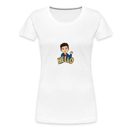bitmoji - Premium T-skjorte for kvinner