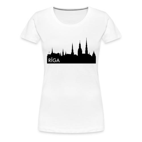 Riiga Pin - Women's Premium T-Shirt