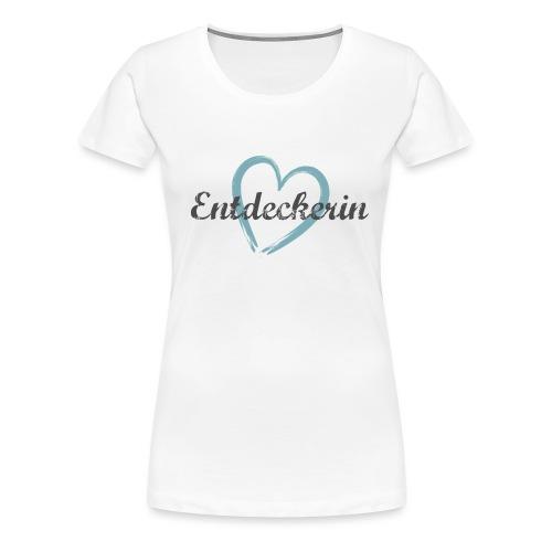 Entdeckerin Cambodia - Frauen Premium T-Shirt