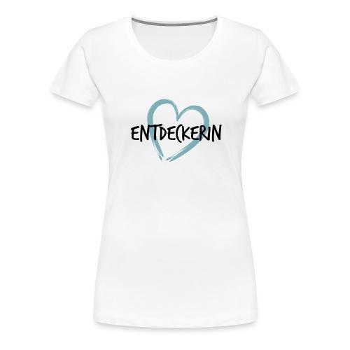 Entdeckerin Deutschland - Frauen Premium T-Shirt