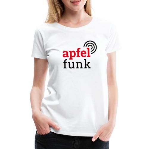 Apfelfunk Edition - Frauen Premium T-Shirt