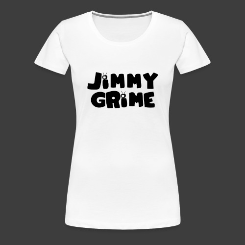 Jimmy Grime White Family Guy Shirt - Camiseta premium mujer