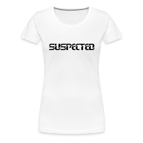 suspected music logo - Frauen Premium T-Shirt