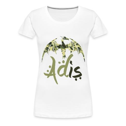 draaakcamo png - Vrouwen Premium T-shirt