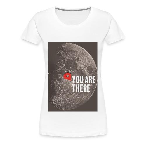 Dans la lune - T-shirt Premium Femme