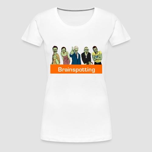 Brainspotting Zombies - Women's Premium T-Shirt